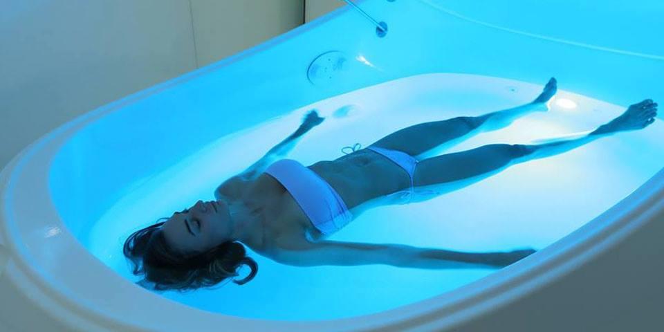 float-woman